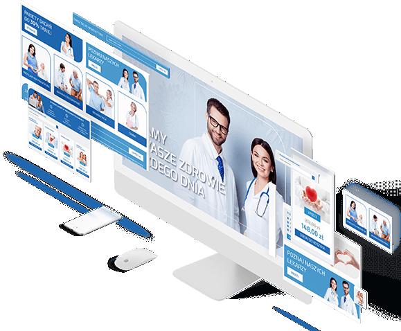 Nowoczesne strony internetowe dla przychodni medycznych i gabinetów lekarskich