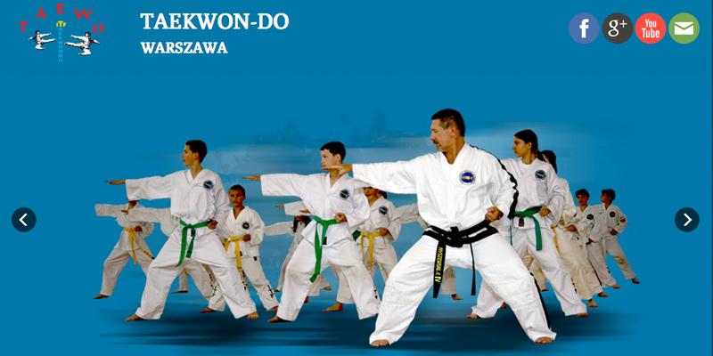 Strona www dla klubu sportowego