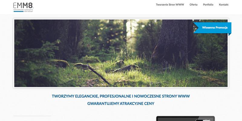 Nowa strona internetowa EMM8