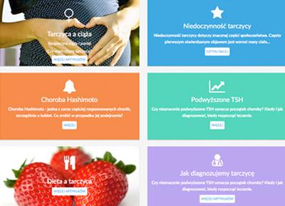 Strona dla portalu medycznego