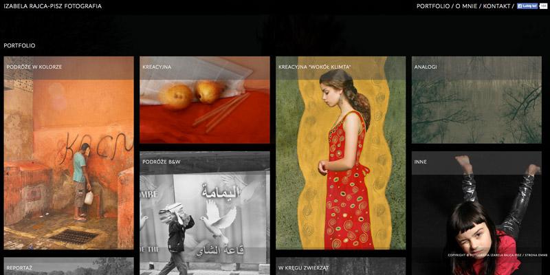 Strona www dla fotografa