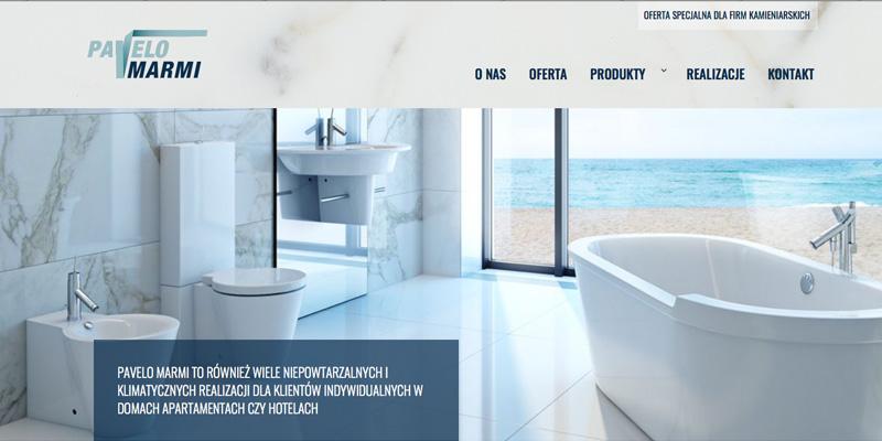 Strona internetowa dla firmy