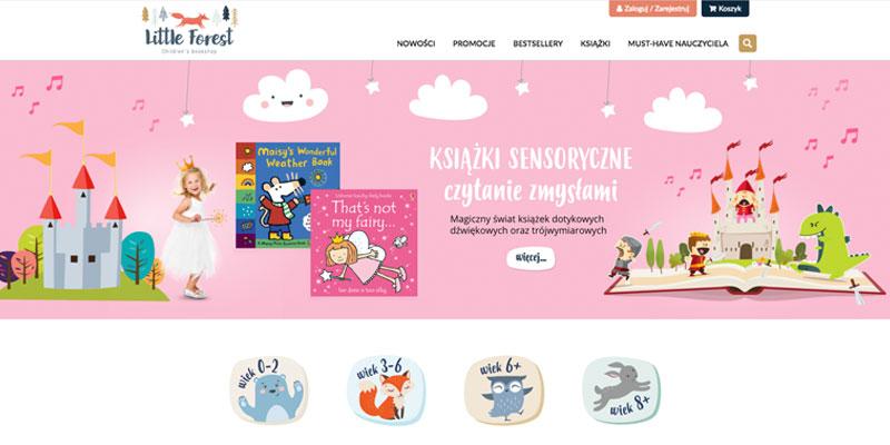 Sklep internetowy dla księgarni