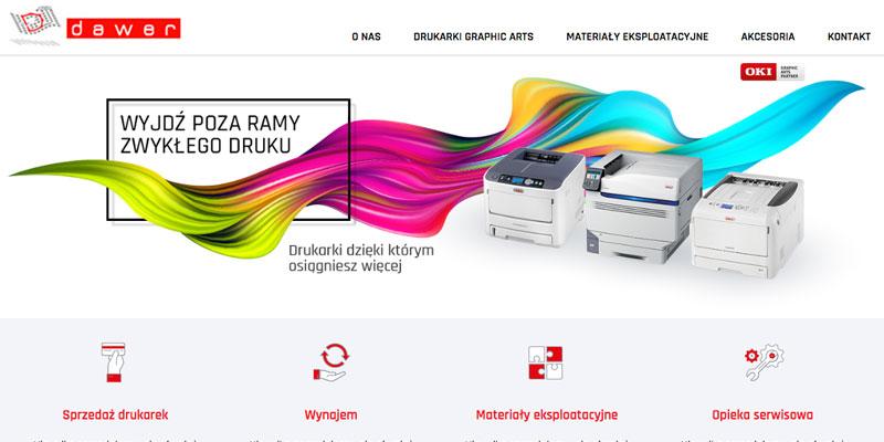 Strona wizytówka dla firmy